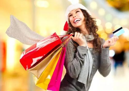 受够了忙忙碌碌,节日就要潇洒购物