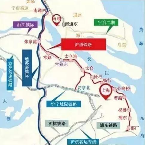 沪通铁路传来新动向 天悦湾规划利好再升级