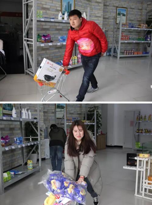 超市大赢家活动完美落幕 售楼部人气火爆爆