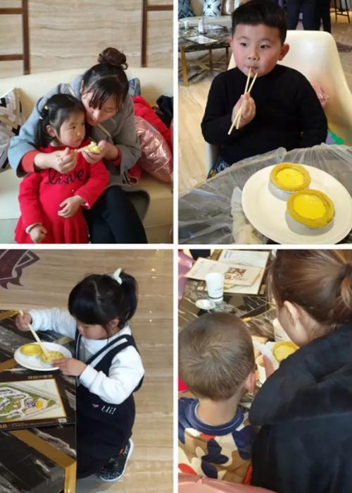 柏悦湾蛋挞DIY|烘培春天,品味幸福